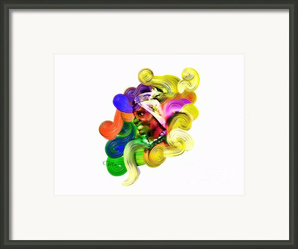 One Part 2 Framed Print By Mo T