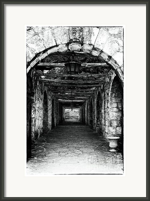 Only Exit Framed Print By John Rizzuto