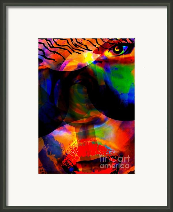 Only You Can See Me Framed Print By Fania Simon