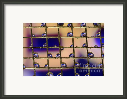 Open Framed Print By Darren Fisher
