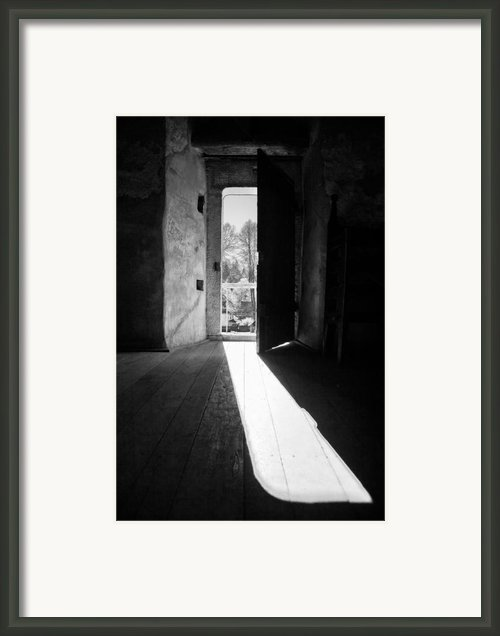 Open Door Framed Print By Gabriela Insuratelu
