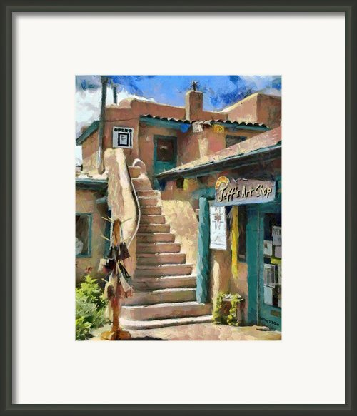 Open For Business Framed Print By Jeff Kolker