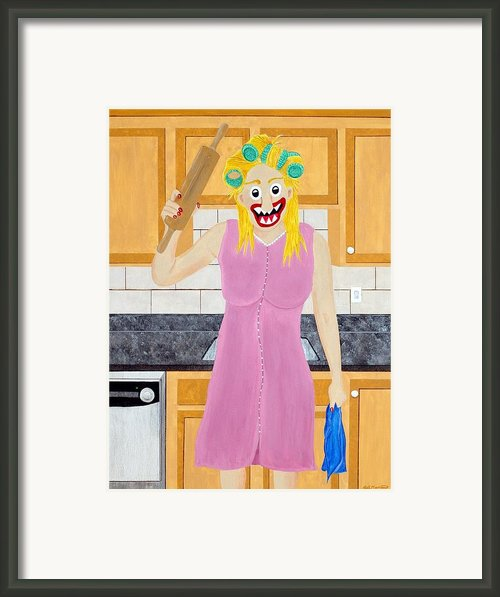 Opinionated Framed Print By Sal Marino
