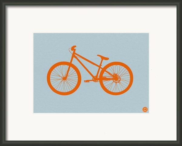 Orange Bicycle  Framed Print By Irina  March