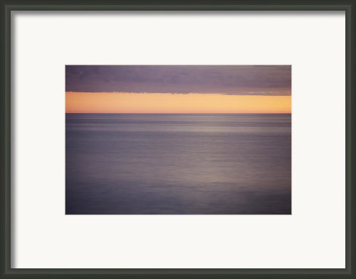 Orange Sky Framed Print By Skip Nall