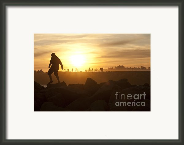 Ordinary Day Extraordinary Life Framed Print By Artist And Photographer Laura Wrede