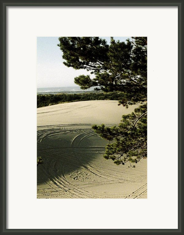 Oregon Dunes 3 Framed Print By Eike Kistenmacher