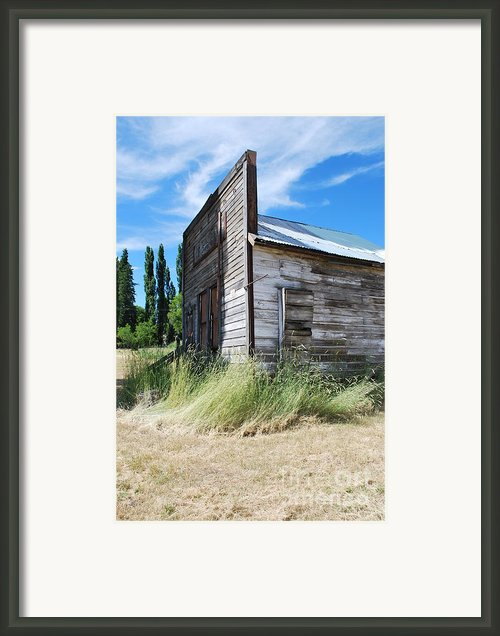 Oregon Ghost Town Framed Print By Jen Bodendorfer