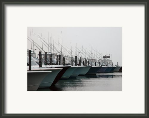 Oregon Inlet Framed Print By Kelvin Booker