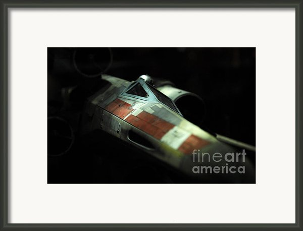 Original X-wing Framed Print By Micah May