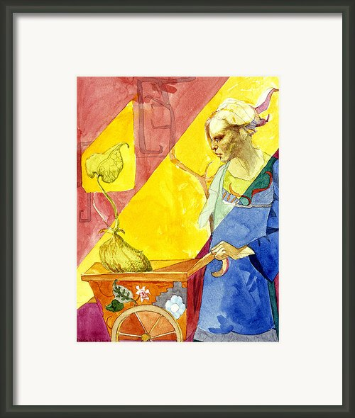 Origins 2 Framed Print By Ellen Dreibelbis