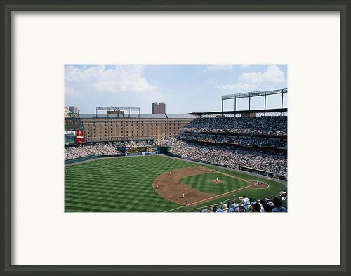 Orioles Park. Kansas City Royals Framed Print By Brian Gordon Green