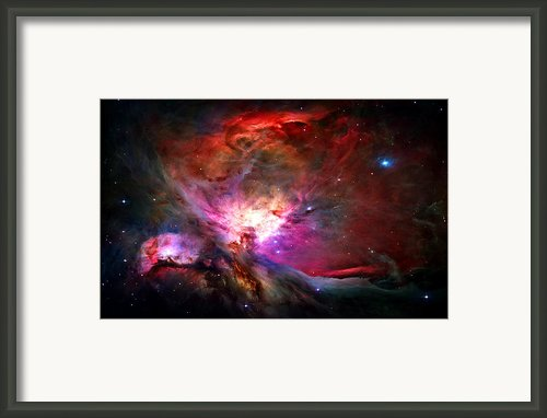 Orion Nebula Framed Print By Michael Tompsett