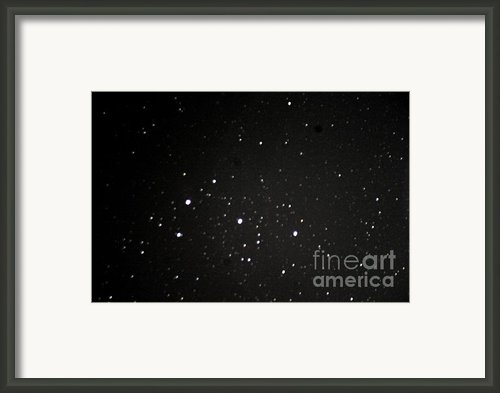 Orions Belt Framed Print By Stephen Whisman