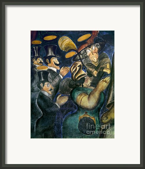 Orozco: Churchgoers, 1926 Framed Print By Granger