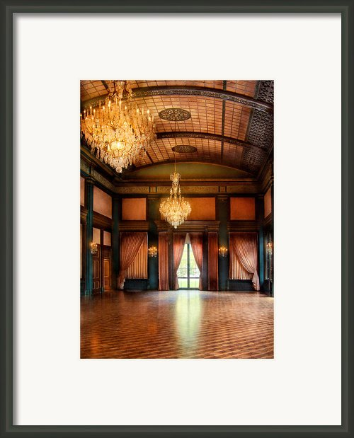 Other - The Ballroom Framed Print By Mike Savad