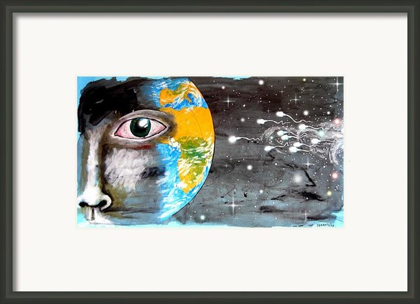 Our Cosmic Origin Framed Print By Paulo Zerbato