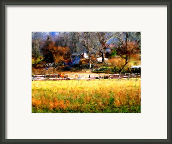 Our View Framed Print By Marilyn Sholin