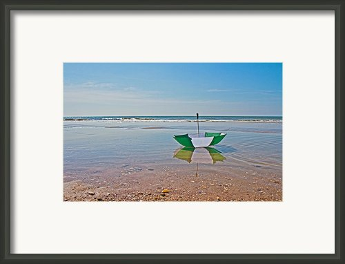 Out For A Stroll Framed Print By Betsy A Cutler East Coast Barrier Islands