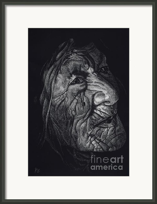 Out Of Greaheadedness Wisdome Comes Forth Framed Print By Yenni Harrison
