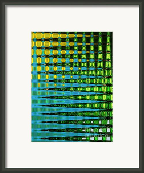Out Of Line Framed Print By Lj Lambert
