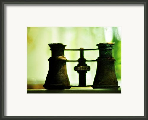 Out Of Sight Framed Print By Rebecca Sherman