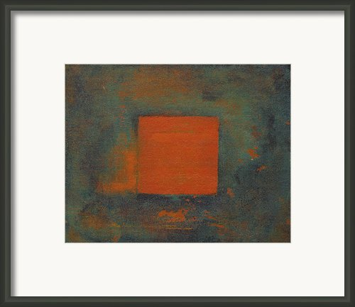 Out Of The Box Framed Print By Ron Haehle