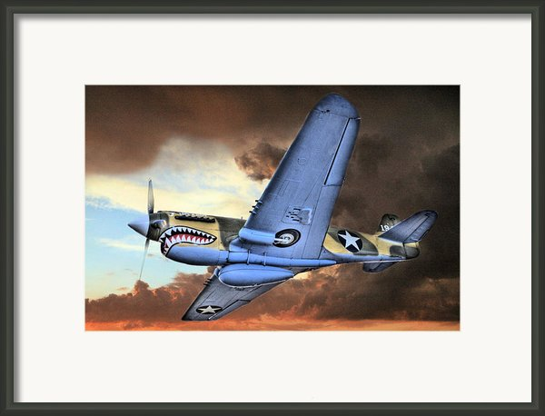 Out Of The Storm Framed Print By Jc Findley