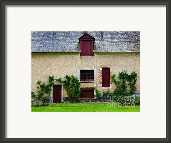 Outbuildings Of Chateau Cheverny Framed Print By Louise Heusinkveld