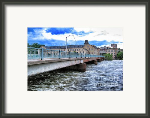 Over The Fox River Framed Print By Shutter Happens Photography