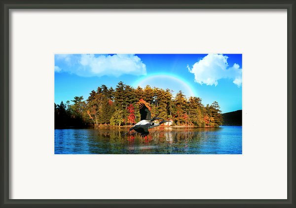 Over The Rainbow Framed Print By Mark Ashkenazi