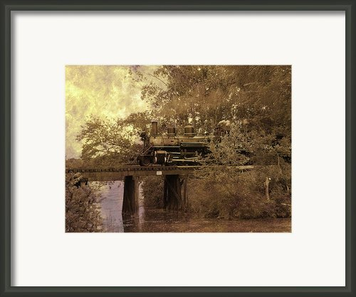 Over The River Framed Print By Scott Hovind