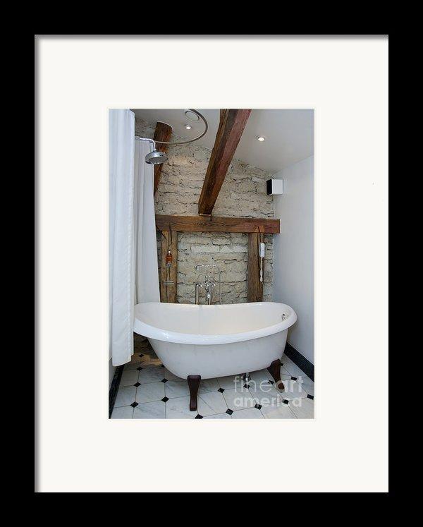 Pädaste Manor Bathtub Framed Print By Jaak Nilson