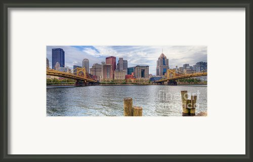 Pa0001 Pittsburgh 1 Framed Print By Steve Sturgill