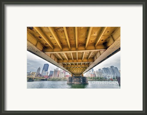Pa0004 Pittsburgh 4 Framed Print By Steve Sturgill