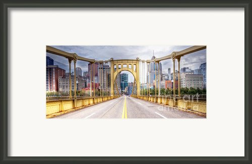 Pa0010 Pittsburgh 10 Framed Print By Steve Sturgill