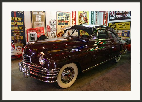 Packard Framed Print By Nina Fosdick
