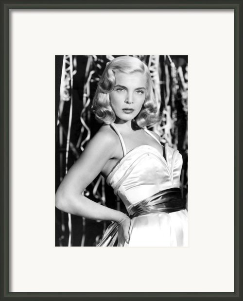 Paid In Full, Lizabeth Scott, 1950 Framed Print By Everett