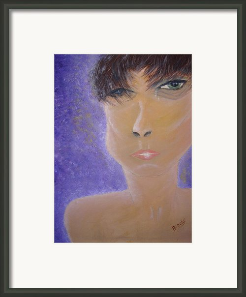 Painful Life Framed Print By Donna Blackhall