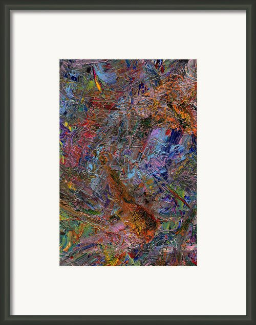Paint Number 26 Framed Print By James W Johnson