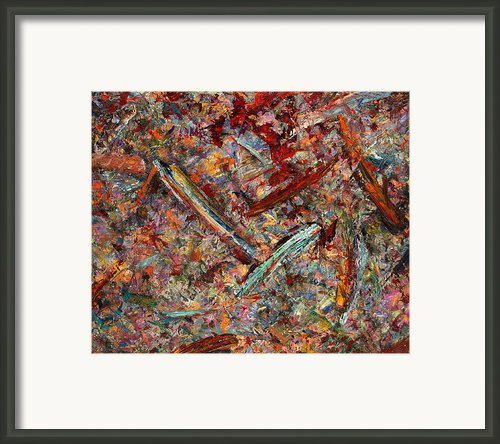 Paint Number 30 Framed Print By James W Johnson