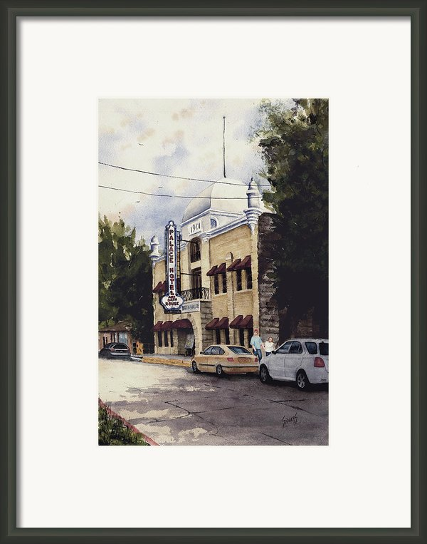 Palace Hotel Framed Print By Sam Sidders