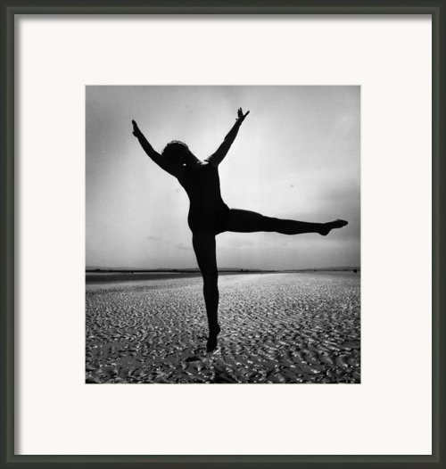 Pamela Dancing Framed Print By John Chilingworth