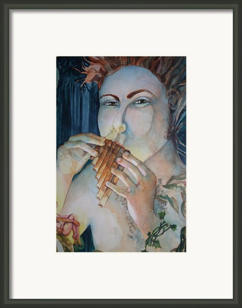 Pan 2 Framed Print By Jackie Rock