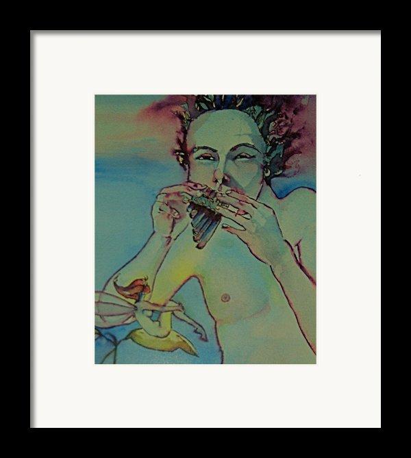 Pan Framed Print By Jackie Rock