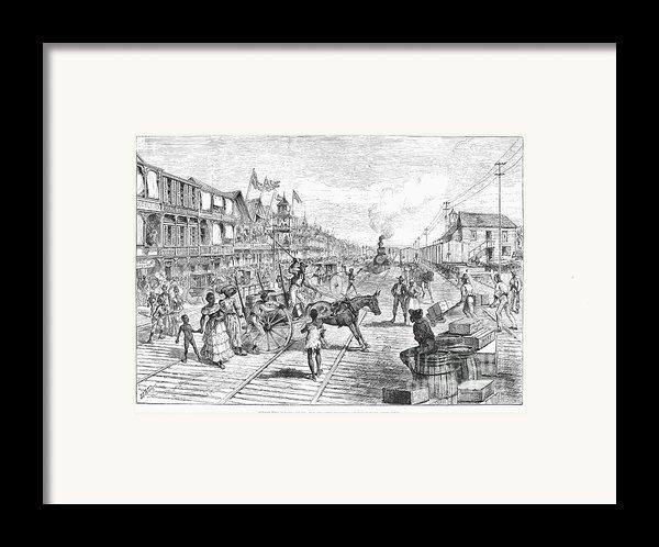 Panama Railway, 1888 Framed Print By Granger