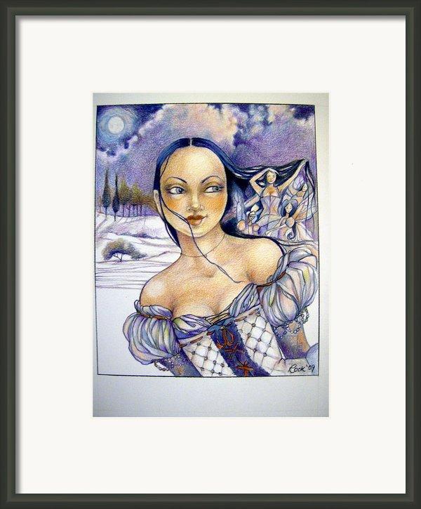 Pandora Framed Print By Jackie Rock