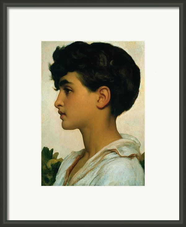 Paolo Framed Print By Frederic Leighton