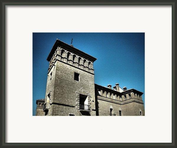 Parador De Alcaniz - Spain Framed Print By Juergen Weiss