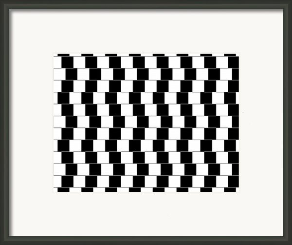 Parallel Lines Framed Print By Michael Tompsett